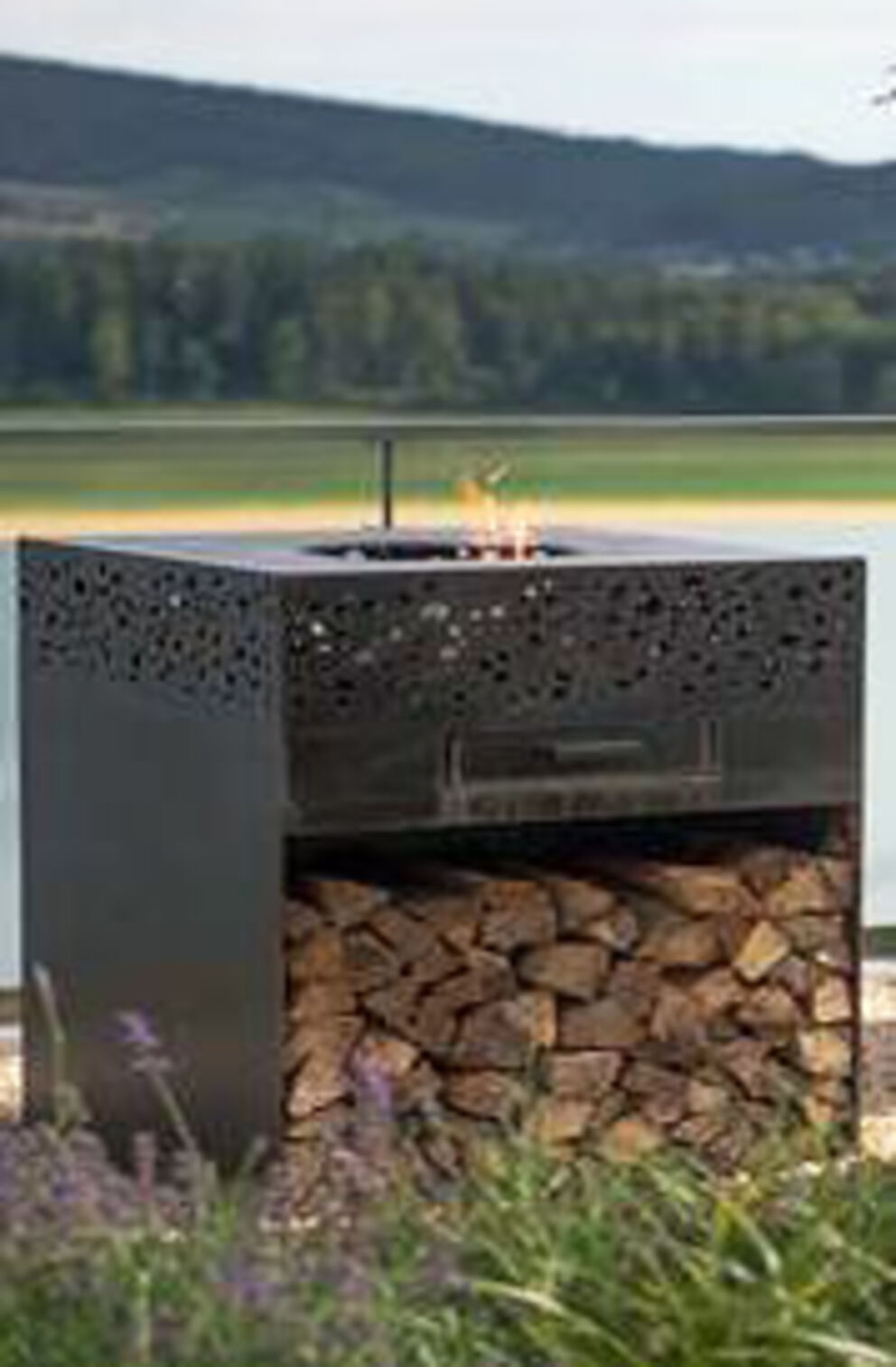FLAMMENGRILL ALTOS Corten