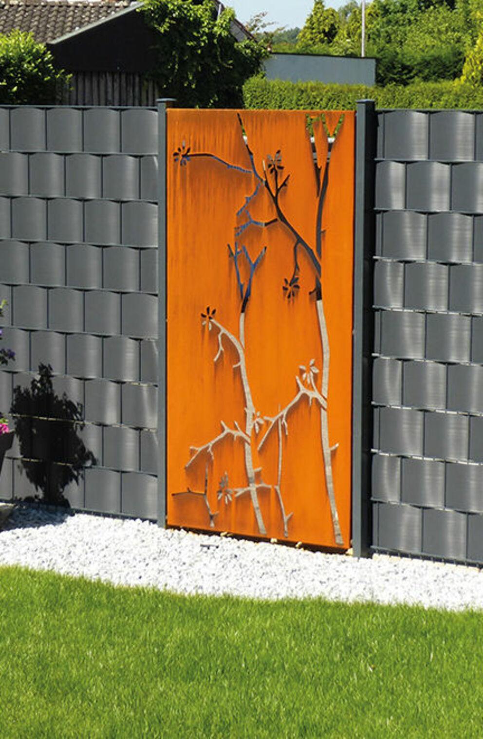 Sichtschutzwande Fur Ihren Garten Aus Metall Glas Und Stein